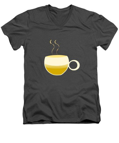 Green Tea Morning Men's V-Neck T-Shirt