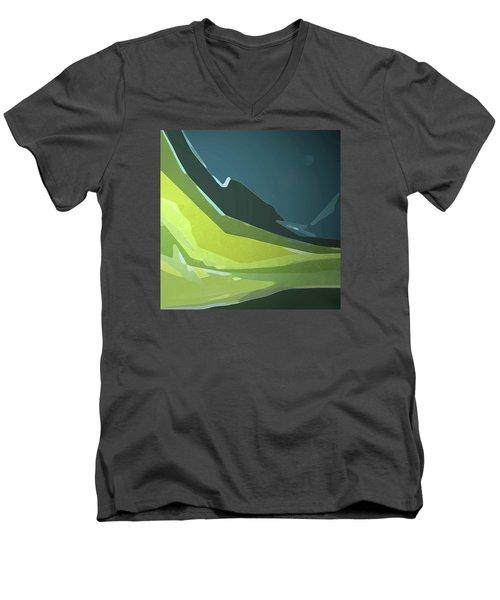 Green Valley Men's V-Neck T-Shirt