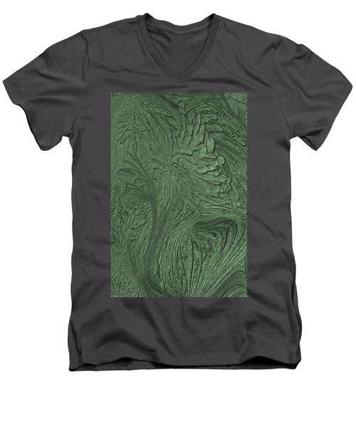 Green Wind Men's V-Neck T-Shirt