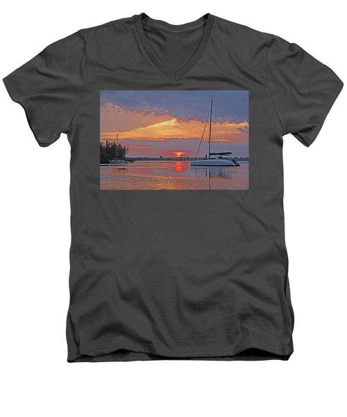 Greet The Day Men's V-Neck T-Shirt