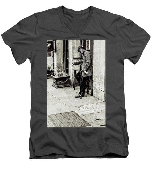 Greetings Men's V-Neck T-Shirt