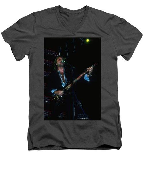 Greg Lake Of Elp Men's V-Neck T-Shirt