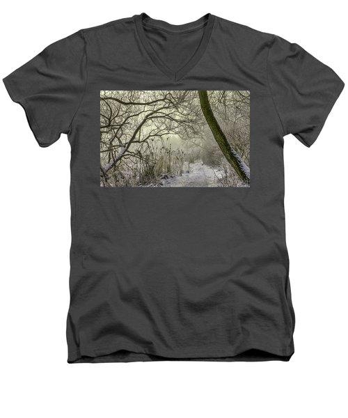 Grey Day #h1 Men's V-Neck T-Shirt