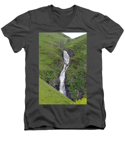 Grey Mare's Tail Men's V-Neck T-Shirt