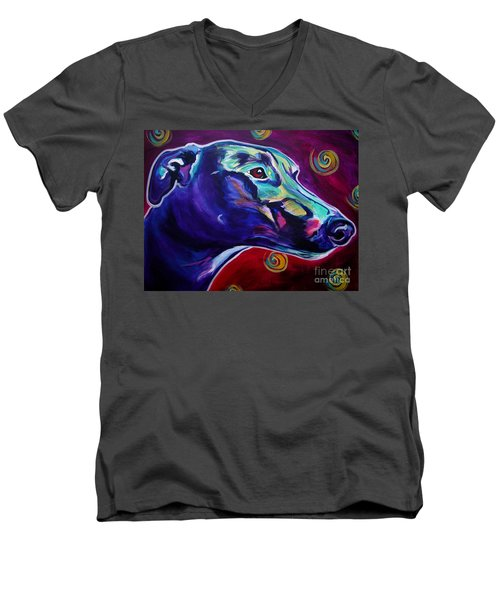 Greyhound -  Men's V-Neck T-Shirt