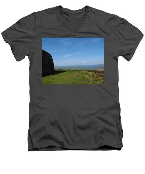 Grianan Of Aileach Men's V-Neck T-Shirt