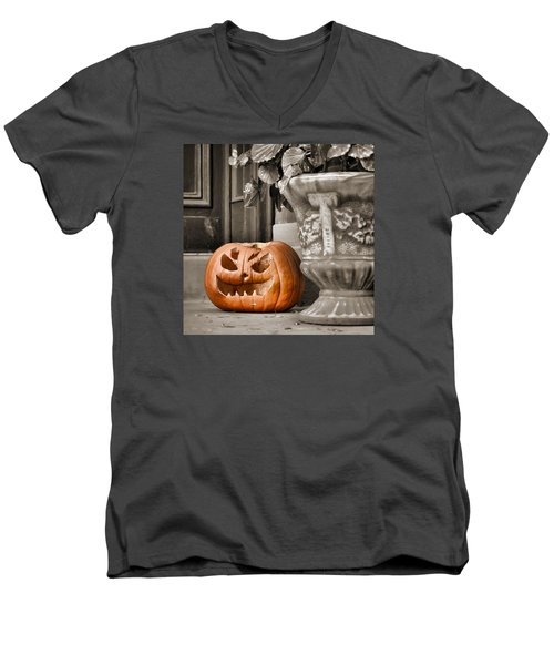 Grim Reaper Men's V-Neck T-Shirt