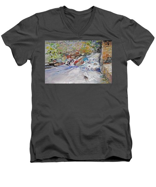 Grist Mill Spill Way Men's V-Neck T-Shirt
