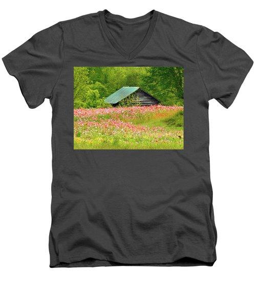 Ground Hog Daze Men's V-Neck T-Shirt