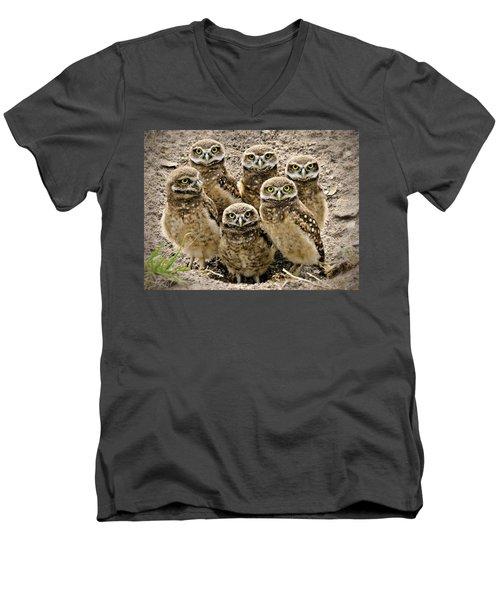 Group Shot Men's V-Neck T-Shirt