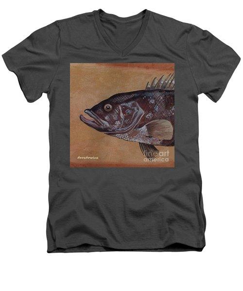Grouper Men's V-Neck T-Shirt