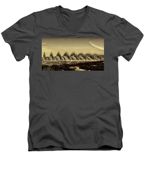 Growing Grapes In Temecula  Men's V-Neck T-Shirt