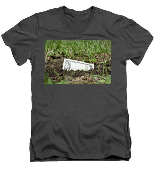 Growing Money Men's V-Neck T-Shirt