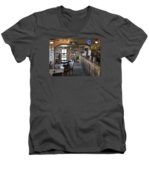 Gruene Hall Bar Men's V-Neck T-Shirt