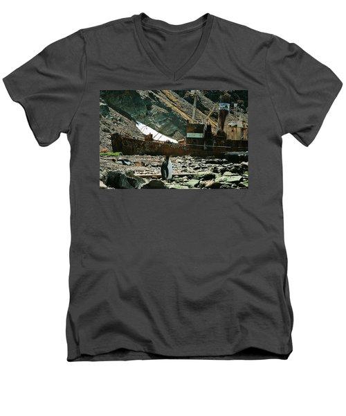 Grytviken Sentinel Men's V-Neck T-Shirt