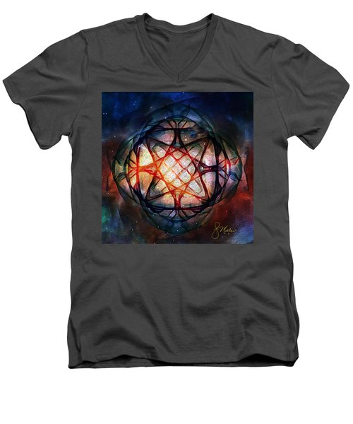 Guardian Of Light Men's V-Neck T-Shirt