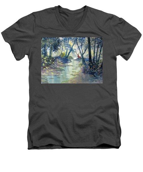 Guardian O'the Glade Men's V-Neck T-Shirt