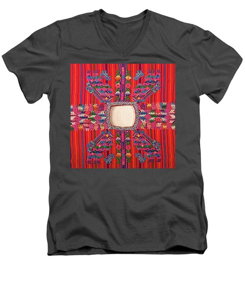 Guatemalan Arts And Crafts Men's V-Neck T-Shirt