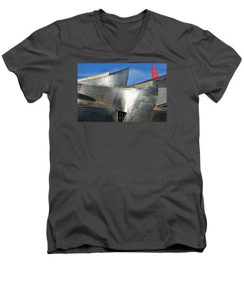 Guggenheim Museum Bilbao - 5 Men's V-Neck T-Shirt