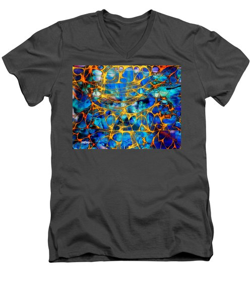 Guilty Men's V-Neck T-Shirt by Seth Weaver
