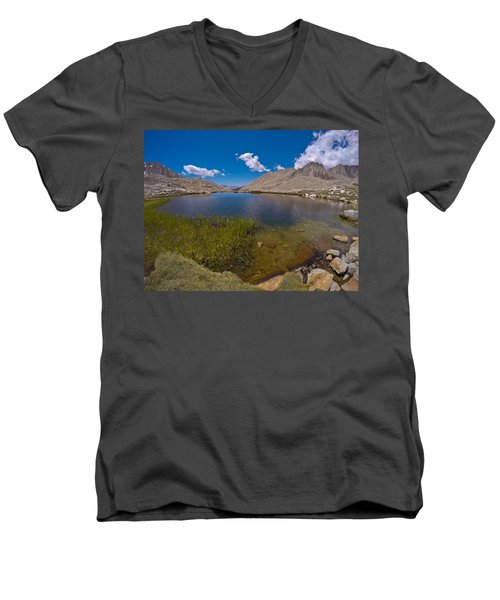 Guitar Lake Men's V-Neck T-Shirt
