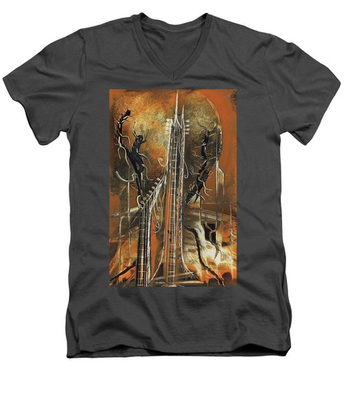 Guitar World Men's V-Neck T-Shirt