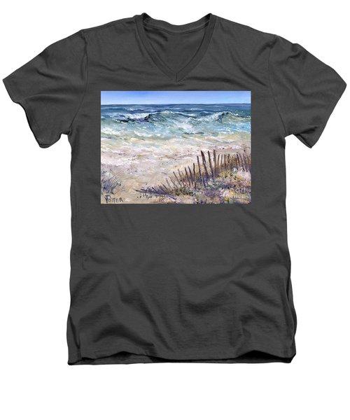 Gulf Coast Perdido Key Men's V-Neck T-Shirt