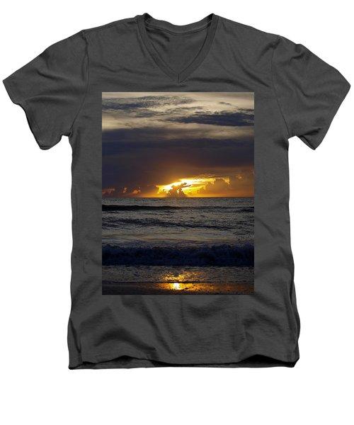 Gulf Sunset Men's V-Neck T-Shirt