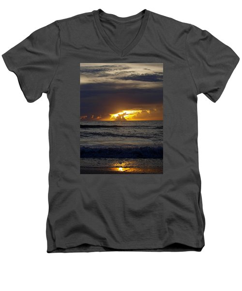Gulf Sunset Men's V-Neck T-Shirt