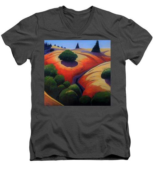 Gully Men's V-Neck T-Shirt