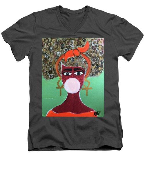 Gummy Men's V-Neck T-Shirt