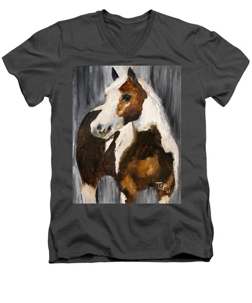 Gunnar Men's V-Neck T-Shirt by Barbie Batson