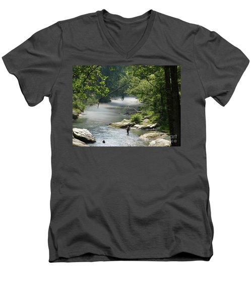 Gunpowder Falls  Men's V-Neck T-Shirt