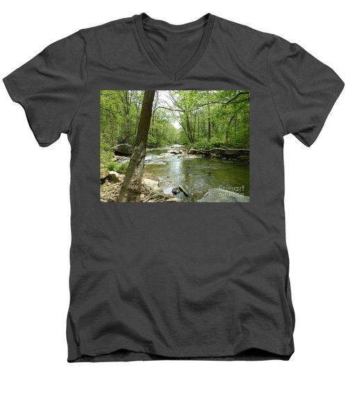 Gunpowder Falls - Ncr Trail Men's V-Neck T-Shirt