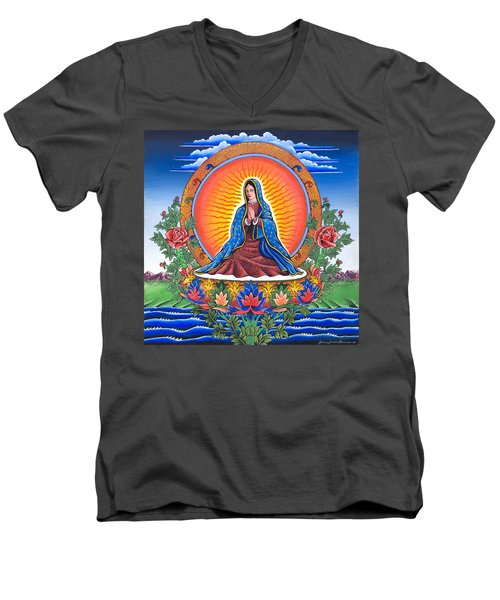 Guru Guadalupe Men's V-Neck T-Shirt