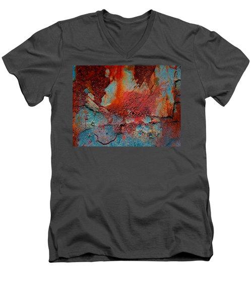 Gutters That Speak  Men's V-Neck T-Shirt