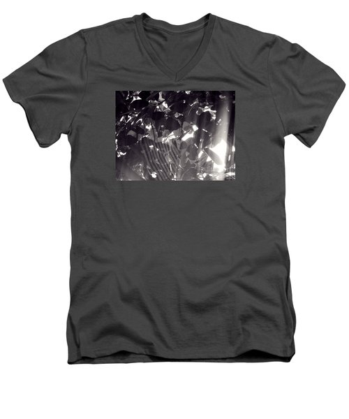Men's V-Neck T-Shirt featuring the photograph Gv Spider Phenomena by Megan Dirsa-DuBois