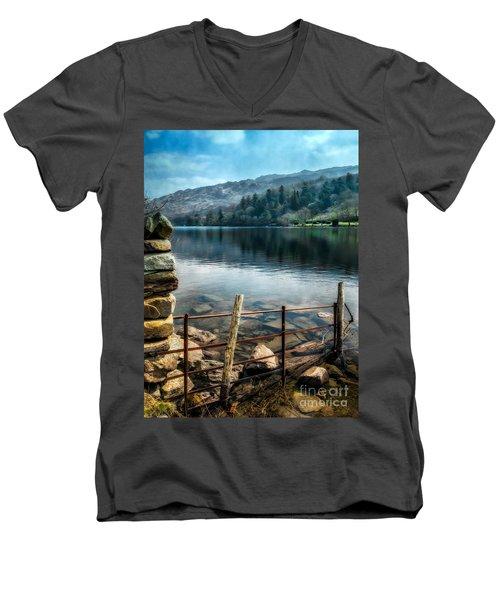Gwynant Lake Men's V-Neck T-Shirt