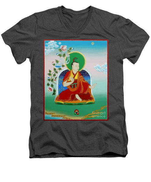 Gyalwa Choyang Men's V-Neck T-Shirt