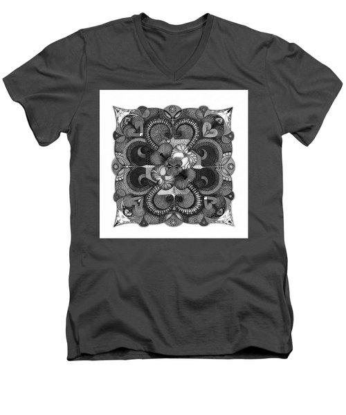 H2H Men's V-Neck T-Shirt
