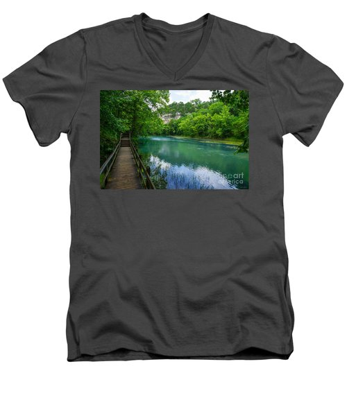 Ha Ha Tonka Spring Men's V-Neck T-Shirt