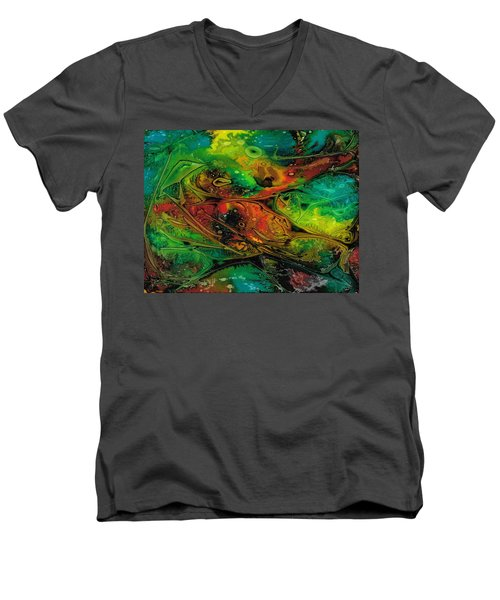 Habitat Paradigm Men's V-Neck T-Shirt