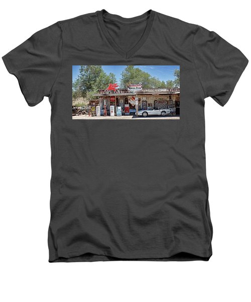 Hackberry General Store On Route 66, Arizona Men's V-Neck T-Shirt