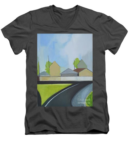 Hackensack Exit Men's V-Neck T-Shirt