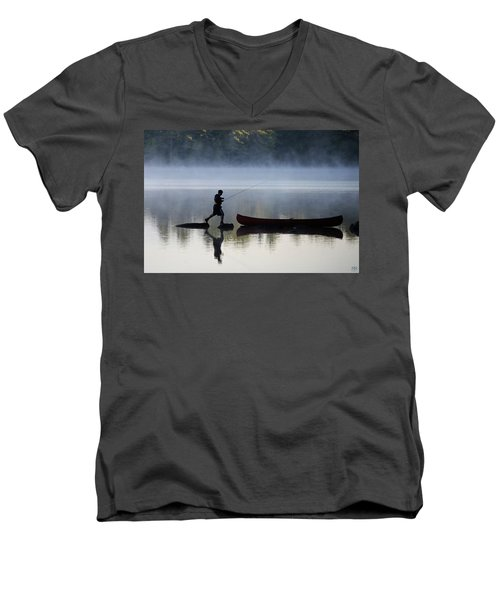 Had Enough Men's V-Neck T-Shirt
