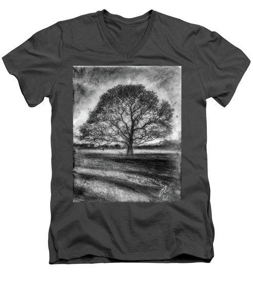 Hagley Tree 2 Men's V-Neck T-Shirt