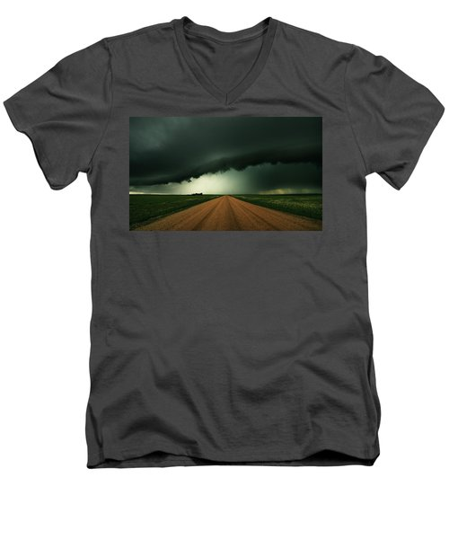 Hail Shaft Men's V-Neck T-Shirt