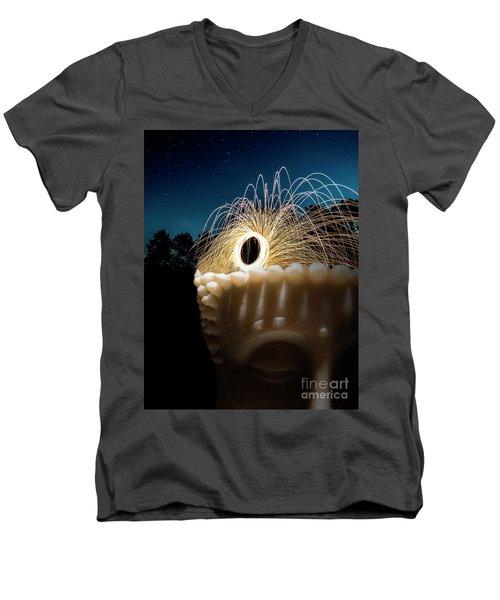 Hair Of Buddha Men's V-Neck T-Shirt