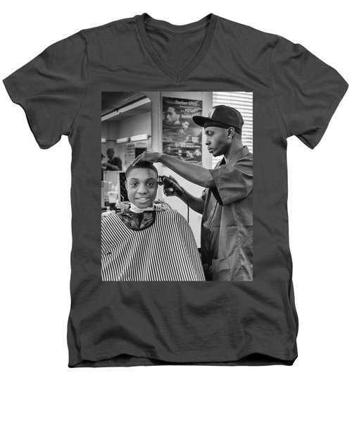 Haircut At Joe's Men's V-Neck T-Shirt