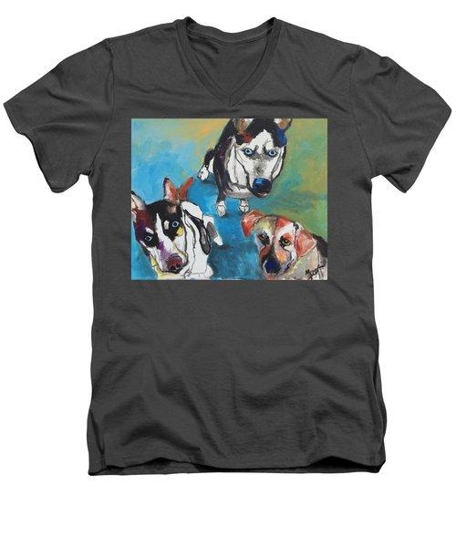 Haleigh's Marauder's Men's V-Neck T-Shirt